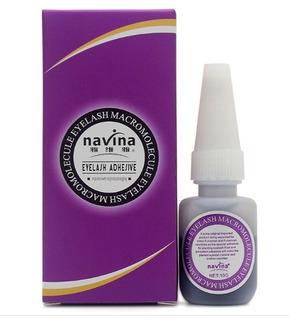 Cola Antialérgica Alongamento Cílios Premium Navina Roxa
