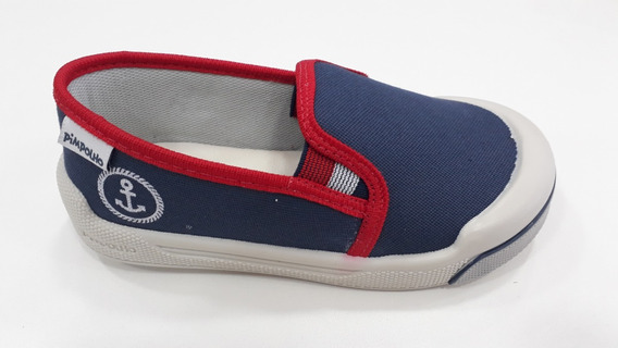 Tênis Infantil Menino Masculino Iate Jeans/vermelho Pimpolho