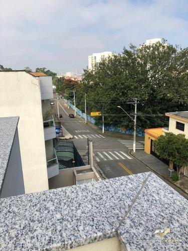 Cobertura À Venda, 100 M² Por R$ 320.000,00 - Vila Camilópolis - Santo André/sp - Co0551