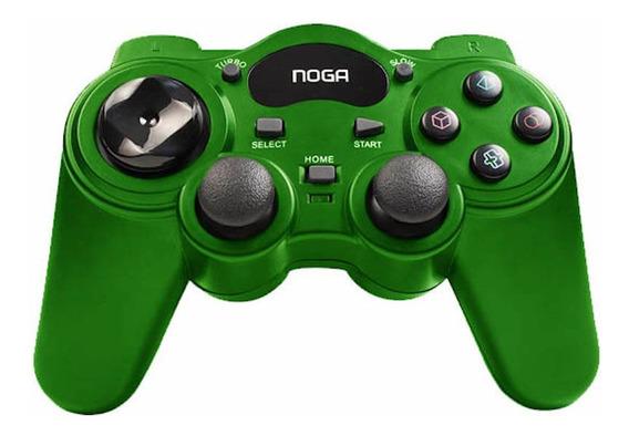 Joystick inalámbrico Noganet NG-3093 verde