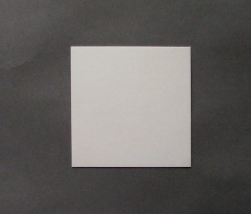 Base Cuadrada Plastificado Ppm Blanco Mate 9x9cm (x200u) 152