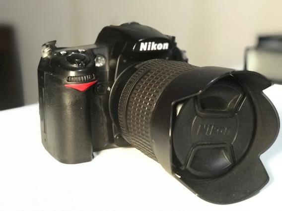 Câmera Nikon D7000 + Lente 18 -105 Mm Bem Conservada