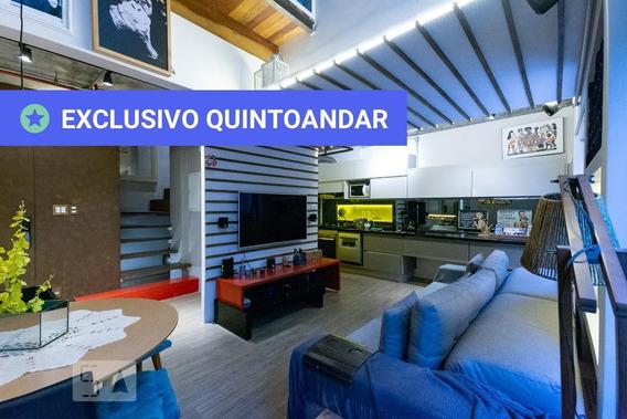 Apartamento No 1º Andar Mobiliado Com 2 Dormitórios E 1 Garagem - Id: 892972315 - 272315