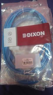 Cable De Red Cat 6 Dixon Patch Cord 2 Metros