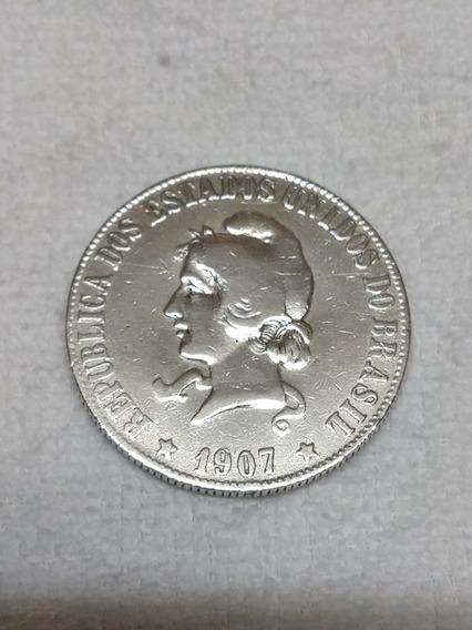 Moeda 2000réis X X Grammas 1907