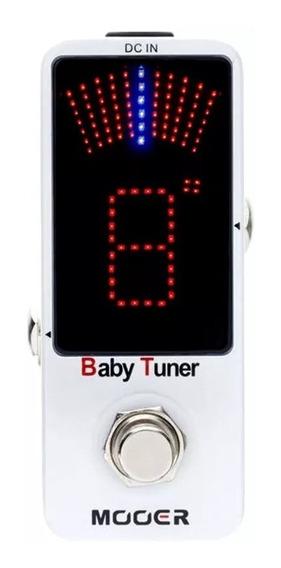 Micro Pedal Afinador Mooer Baby Tuner Mtu1 - Loja Autorizada