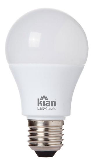 Lâmpada Kian A60 LED 9 W Branco-frio 100V/240V 10 unidades