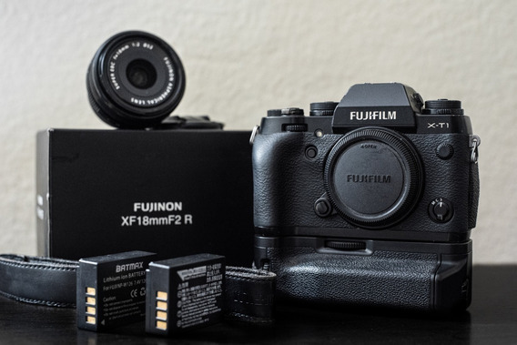 Fujifilm Xt1 Câmera Fotográfica Mirrorless + Lente 18mm F2.0