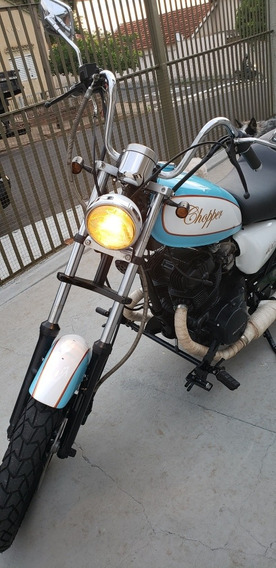 Honda Cb400 Estilo Chopper