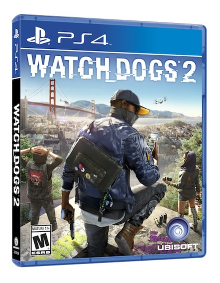 Jogo Watchdogs 2 Ps4 Disco Fisico Game Novo Lacrado Dublado