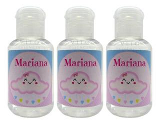 40 Mini Álcool Gel Lembrancinhas De Maternidade Nascimento