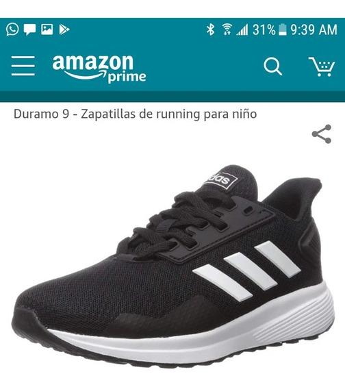 Zapatos adidas Duramo 9 Unisex Talla 6 (originales)