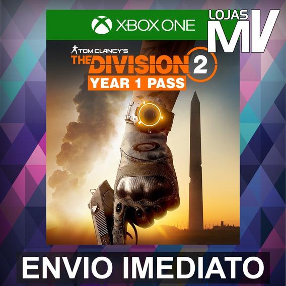 The Division 2 Passe Do Ano 1 Promo Xbox Codigo 25 Digitos
