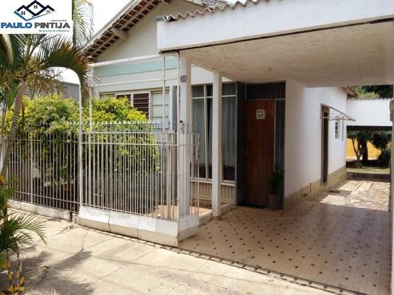 Casa Antiga Em Terreno De 597m No Centro De Indaiatuba - Ca04169 - 34675969