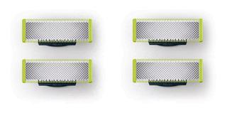 4 Cuchillas Repuestos Afeitadora Philips Oneblade Qp220/50