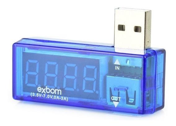 Testador Voltagem E Amperagem Digital Para Porta Usb Teste