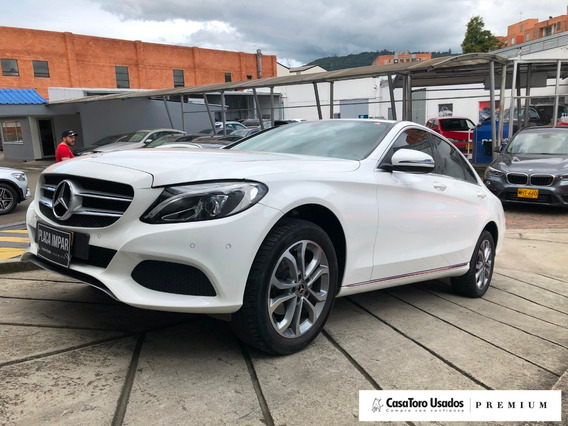 Mercedes Benz Clase C180 Avantgarde 1600cc 2018