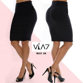 16d301a63d Falda Corta Talle Alta Para Mujer Lisa Licrada Para Mujer