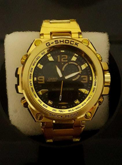 Relógio G-shock Metal Dourado Fosco