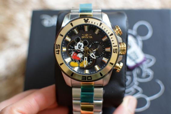 Relógio Invicta Edição Limitada Mickey Mouse 30781 Novo