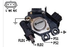 Regulador De Voltaje Tipo Valeo Ecosport Fiesta Ka 493811