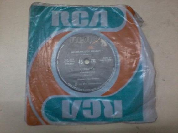 Disco Simple Antiguo Vinilo Los Hermanos Abalos Cambacua