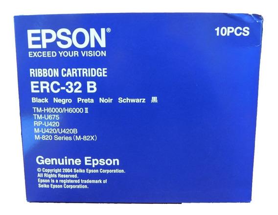 Cinta Epson Erc 32b 10 Unidades Original Tm U675 U420 U420b