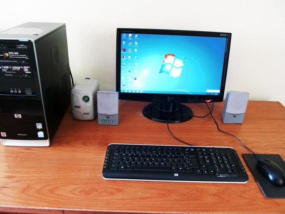 Computador Completo Hp Pavilion + Tela Lg + Kit Tc + Mouse