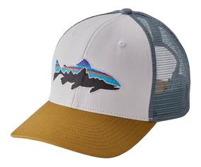 Gorro Patagonia Trout Trucker Hat Whi