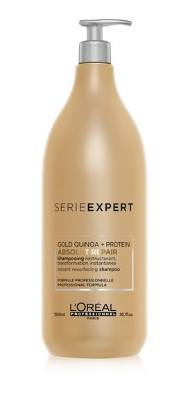 Shampoo S Expert Absolut Repair Gold Quinoa 500 Ml Loréal