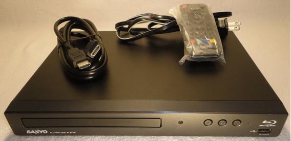 Sanyo Blu-ray Hd1080p +control+cable Muy Poco Uso Como Nuevo