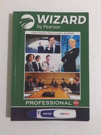 Livro Wizard W4 Com Atividades Em Branco