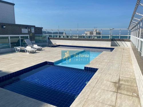 Imagem 1 de 22 de Apartamento Com 2 Dormitórios À Venda, 98 M² Por R$ 430.000 - Guilhermina - Praia Grande/sp - Ap0978