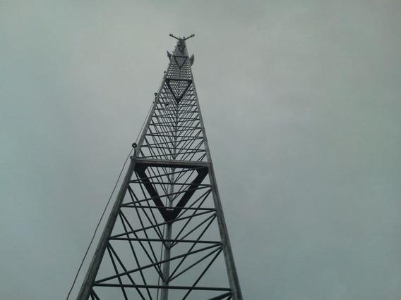 Torre Auportante Para Internet