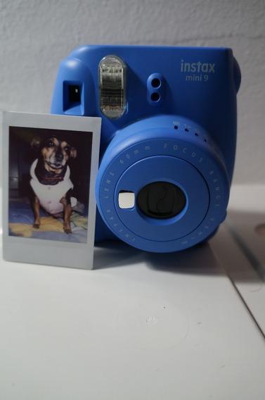 Camera Instax Mini 9 - Com Filme 9 Poses