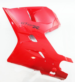 Carenagem Lateral Le Kasinski Comet Gtr 650 Vermelha