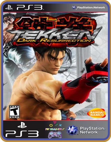 Ps3 Tekken 5 Dark Resurrection Original Mídia Digital