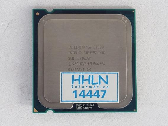 Processador Intel E7500 Core 2 Duo 2,93 Ghz 3m 1066 - 14447