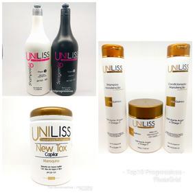 Selagem 3d Uniliss+botox Marroquino+linha Cliente.