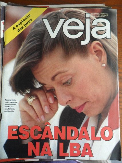 Veja - Escândalo Na Lba - Collor (nº 1198) Frete Grátis