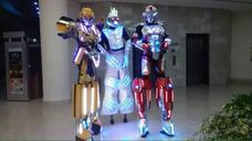 Robot Led Zancos Co2 Transformer Fuego Frio Iron Man Led