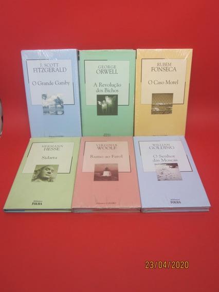 27 Livros Coleção Biblioteca Folha Lolita Angústia