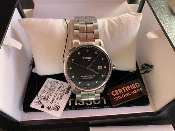 Relógio Tissot Luxury T-classic Diamond Cosc Automático