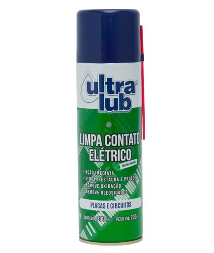 Limpa Contato Elétrico Ultralub 205ml