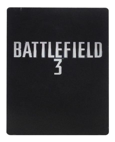 Battlefield 3 Steelcase Xbox 360 Mídia Física Pronta Entrega