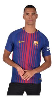 Jersey Nike Barcelona Hombre Azul Versión Jugador 847190457