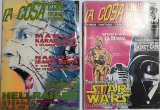 2 Revista La Cosa N° 2 Y N° 3 Las 2 A $500 Pesos
