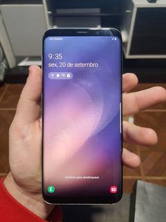 Samsung Galaxy S8 Plus (usado Com Tela Levemente Trincada)