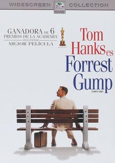 Forrest Gump Tom Hanks Ganadora 6 Premios Oscar Pelicula Dvd