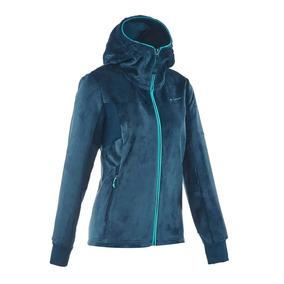 136ed7914 Blusa De Trilha Feminina De Fleece Forclaz 500 Quechua